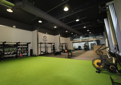 St Ives Training Shed Functional Gym Completed